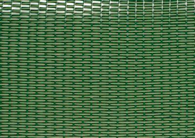 Strandkorb Geflecht NADEL grün-beige