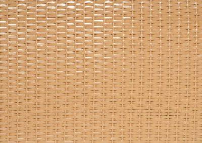 Strandkorb Geflecht beige