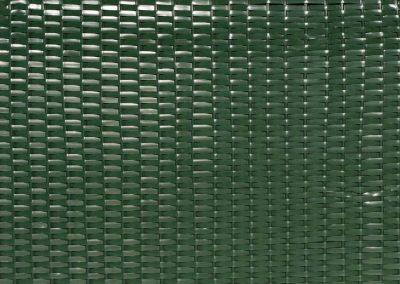 Strandkorb Geflecht Grün
