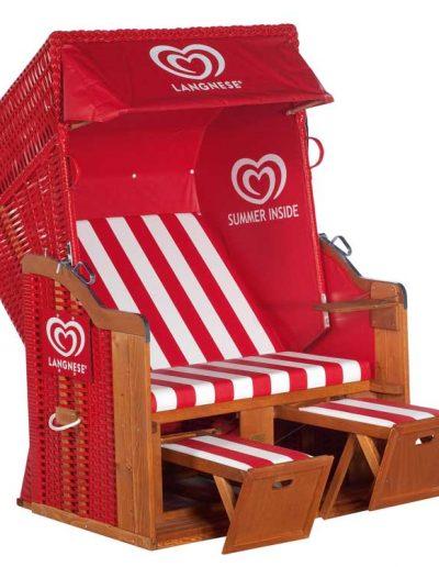 Strandkorb Promotion Langnese