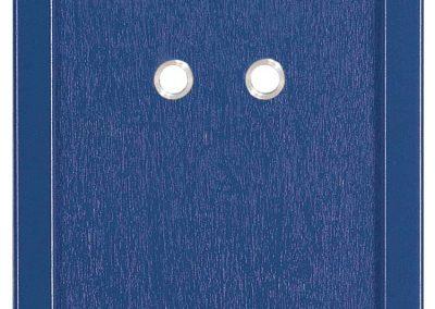 Ausziehblende Blau